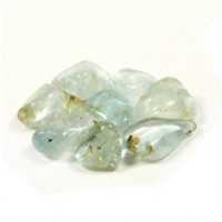 Blue Topaz  tumbled crystal