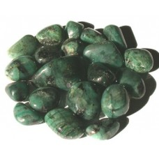 Emerald tumbled crystal