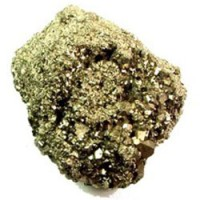 Pyrite (Fool's Gold) Raw Crystal.