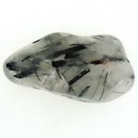 Tourmalinated Quartz crystal